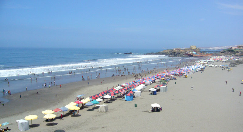 Mollendo's beaches in Peru