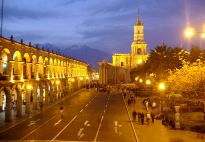 Main Square of Arequipa