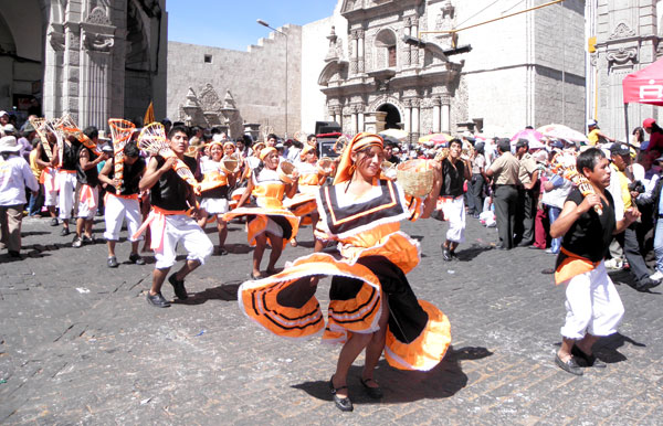 dances of Arequipa Peru